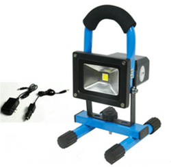 Emergency Rechargeable LED flood light 18w blue