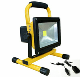 Emergency Rechargeable LED flood light 15w