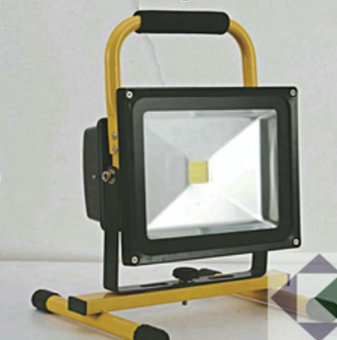Emergency Rechargeable LED flood light 65w
