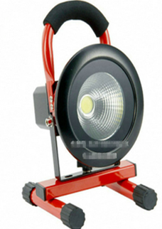Emergency Rechargeable LED flood light 10w round