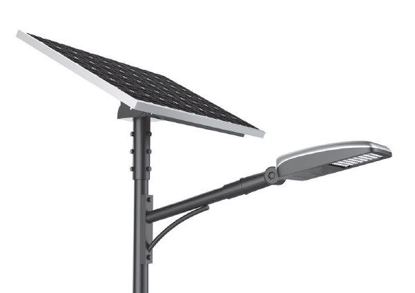 All in two LED Solar Street light 10-60W Bright Intelligent with LiFePO4 Battery