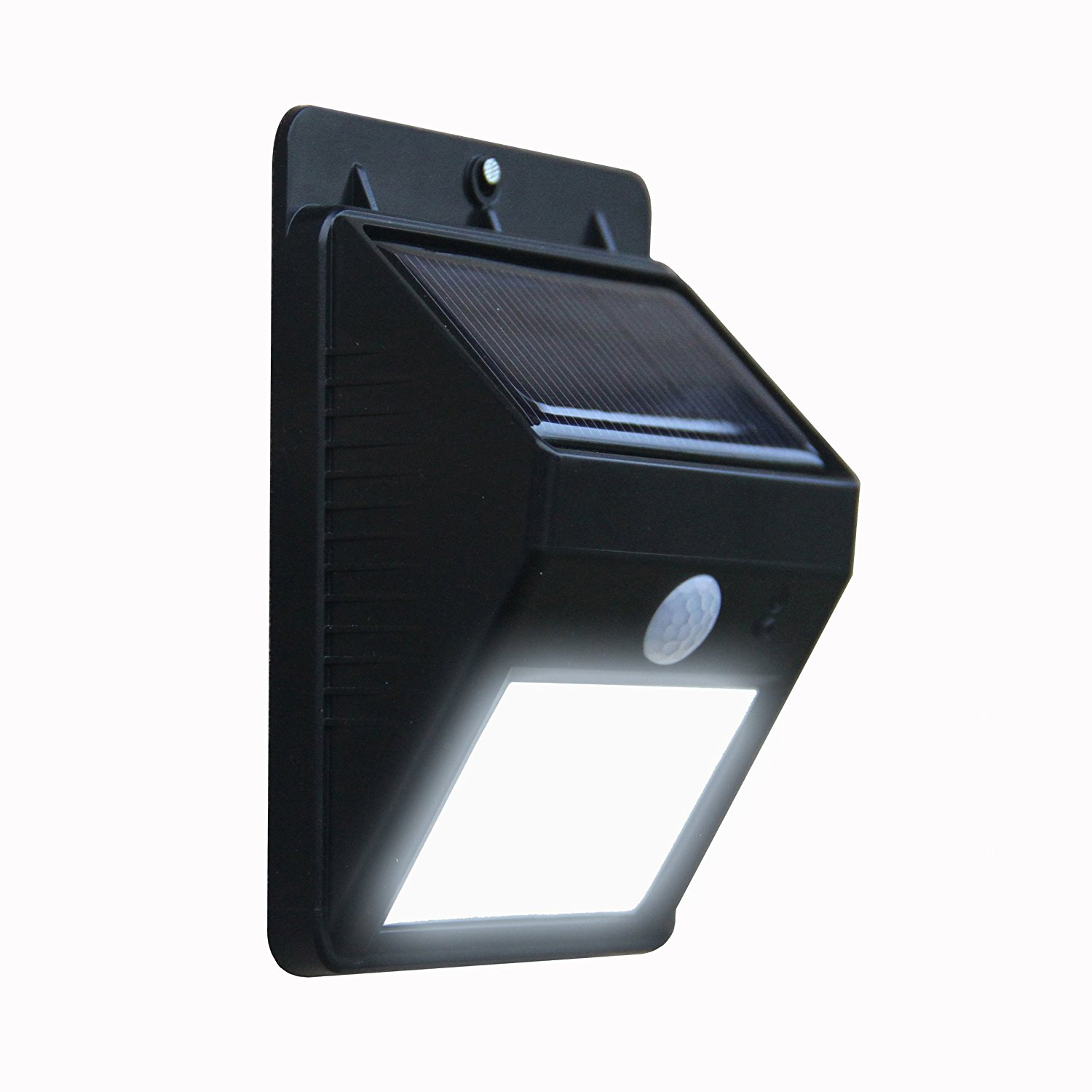 outdoor motion sensor integrated solar light led solar outdoor wall light