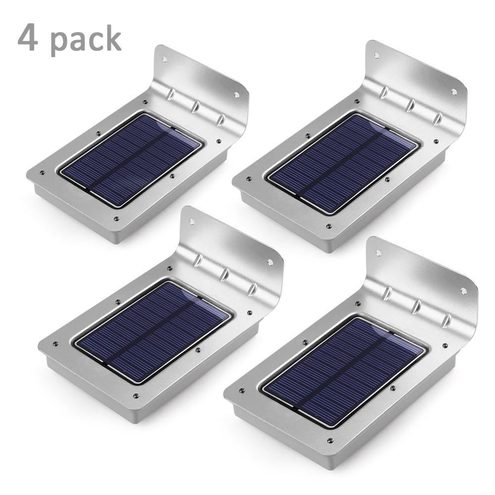 outdoor garden led lights Solar Motion Activated Outdoor Wall Light
