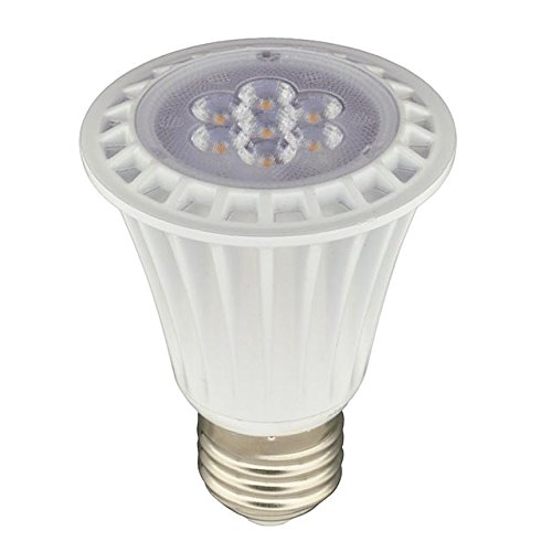 UL PAR20 Dimmable LED Spot Light Bulbs with Interchangeable Wide Angle Flood Len
